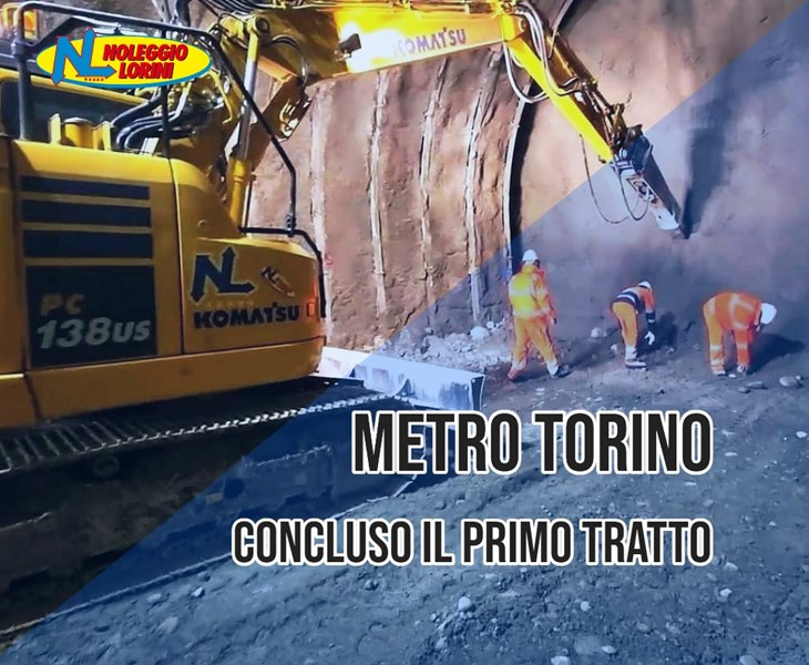 Metro Torino: Concluso il primo tratto della galleria